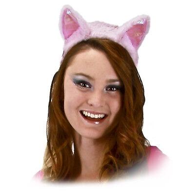 Adult Teen Kids My Little Pony Pink Pinkie Pie Fuzzy Cosplay Costume Headband
