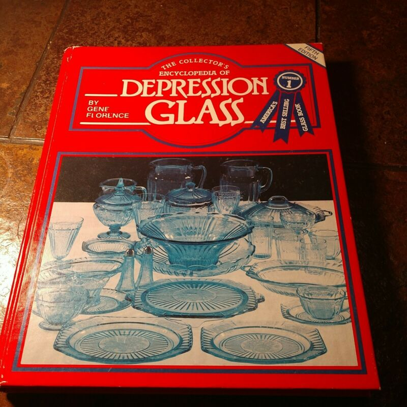 1982 Collectors Encyclopedia of Depression Glass Gene Florence Reference Book