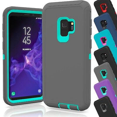 Galaxy Wholesale (15 TPU Hard Defender Hybrid Case Cover Wholesale Lot For Samsung Galaxy S9)