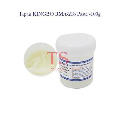 100g Japan Kingbo Rma-218 Paste Flux Bga Rework Reflow Smt Solder Microsoldering