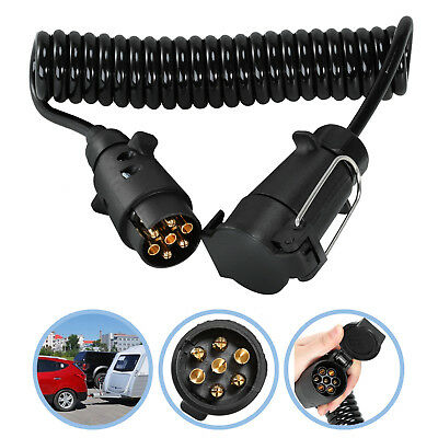 7 Pin Trailer Truck Light Board Extension Cable Lead 3M Male to Female Wire