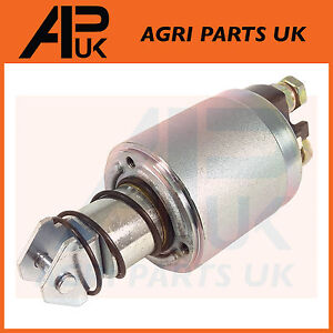 Starter Motor Solenoid Fiat Ford New Holland Tractor See