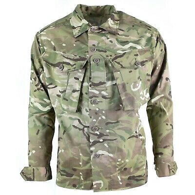 Genuine British army Issue combat MTP field jacket multicam military shirt NEW Military Shirt Jacket