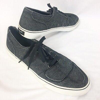 Creative Recreation Cesario Skateboard Shoes Mens 11 Gray Black Low Top VCR4LO11 Cesario Lo Tops