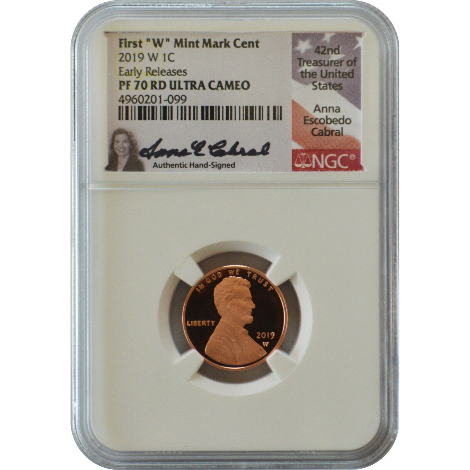 2019 W Lincoln Cent Proof NGC PF 69RD ULTRA CAMEO In Stock Ready To Ship
