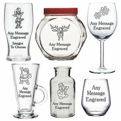 Engraved Glass Christmas Gifts For - Mummy Mum Grandma Granny Nanny Nana Auntie ()