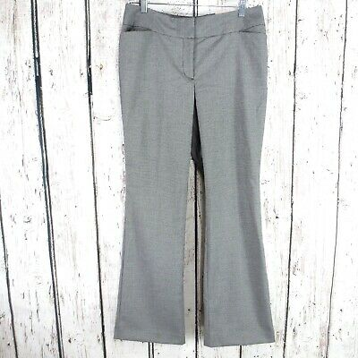 Ann Taylor Petites Sz 8P Signature Bootcut Houndstooth Pants Trousers NWT (H25)