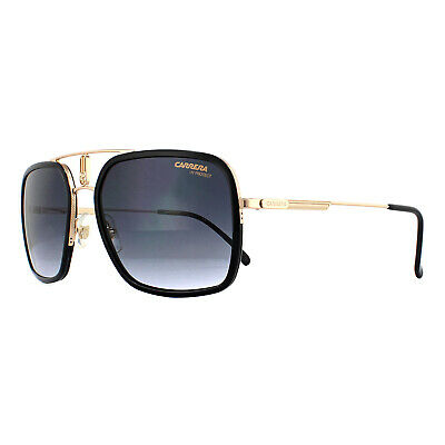 Carrera Sunglasses 1027/S RHL 9O Gold Black Dark Grey Gradient