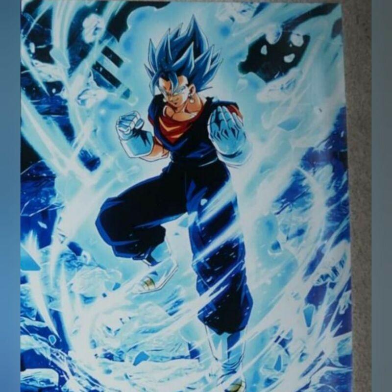 Gogeta & Gogeta Blue 16x20in Metal Print - Dragon Ball