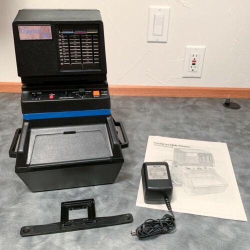 Polaroid Daylab 35 - 35mm Slide Printer COMPLETE & Works -for Polaroid Pack Film