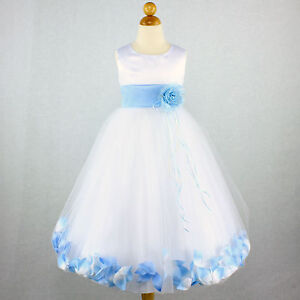 Baby Girl Party Dress Blue 6