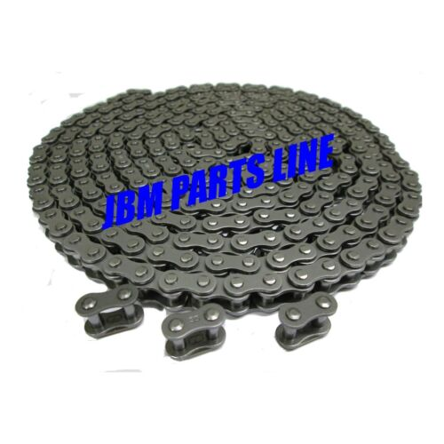 35 Chain, Industrial Chain, Machine Repair 10 FT. Bulk Chain, 3 Master Links