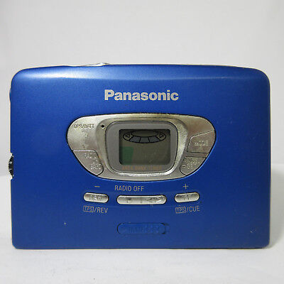 Panasonic RADIO CASSETTE PLAYER RQ-S50V NOT WORKING 180508