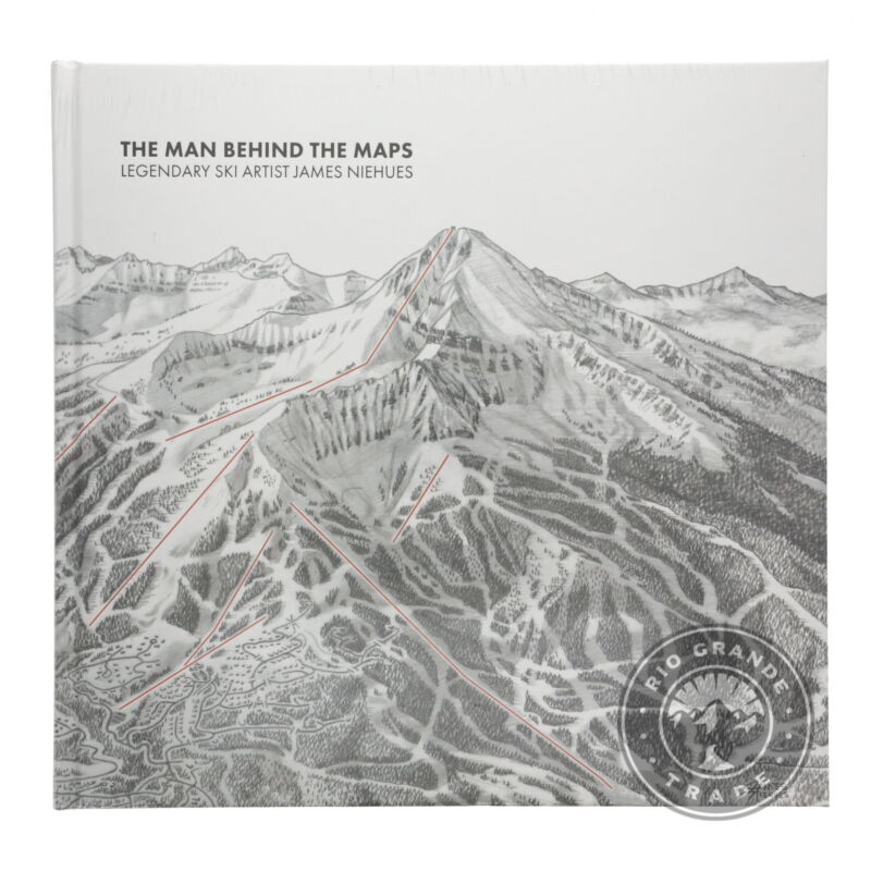 NEW The Man Behind the Maps - Ski Artist James Niehues 1st Edition - Hardcover