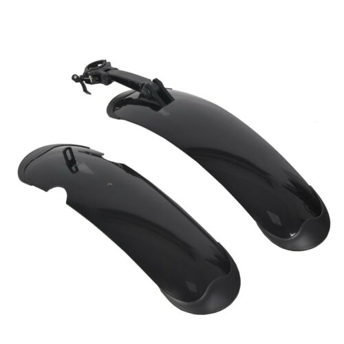 """Electric Bike Fenders for ECOTRIC 26"""" Fat Tire Mountain Electric e-Bike Bicyclec"""