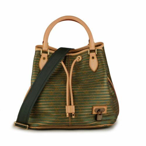 NEW LOUIS VUITTON Neo Eden Monogram Drawstring Bucket Shoulder Bag Noe Green