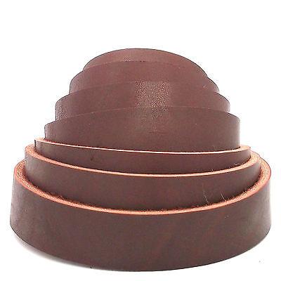 "Latigo Leather Strip 8 to 9 Oz 6' X 1"" 4761-00 by Stecksstore"