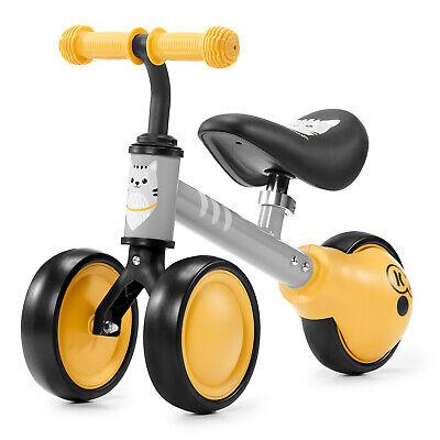 Kinderkraft Bici sin Pedales CUTIE Infantil Cuadro Bajo Sillín Blando Amarillo