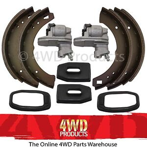 'Rear' Brake Shoe & Wheel Cylinder SET - for Nissan Patrol G60 4.0 P (67-1/77)