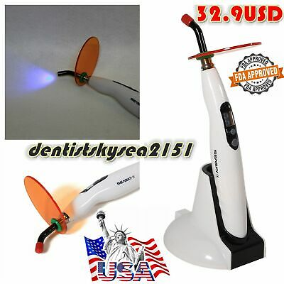 Dental Led Curing Light Cure Lamp Led-b Wireless Cordless Composite Resin Fda-t4