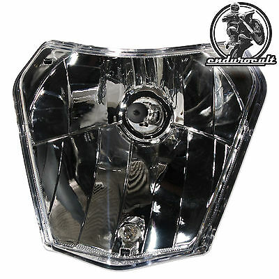 Scheinwerfer Halogen für KTM EXC/F/125/200/250/300/350/450/500 Lampe,Head,Light