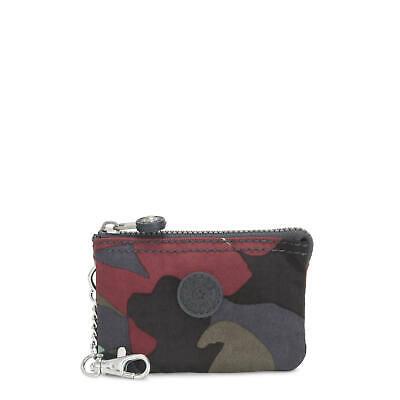 Kipling Creativity Mini Printed Pouch Keychain Camo L