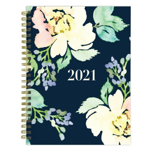 2021 Classy Floral Medium Weekly Monthly Planner