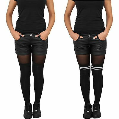 URBAN CLASSICS LADIES OVERKNEE SOCKS 2-Pack Kniestrümpfe Socken Damen College UC ()