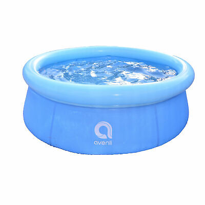 """JLeisure 5.5' x 20"""" Prompt Set Inflatable Outdoor Above Ground Kid Swimming Pool"""