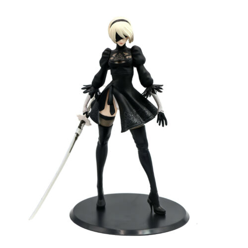 "11"" Nier Automata 2B YoRHa No. 2 Type B Animation Hand-Made Action Figure BULK"