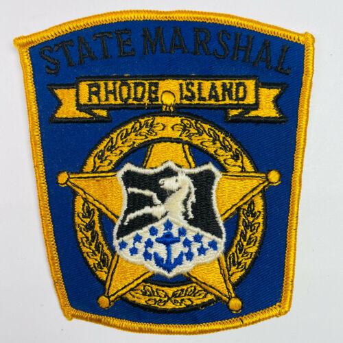 Rhode Island State Marshal RI Patch (A5-C)