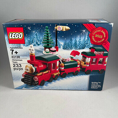 Lego 40138   Christmas Train Set   Limited Edition Holiday   Released 2015