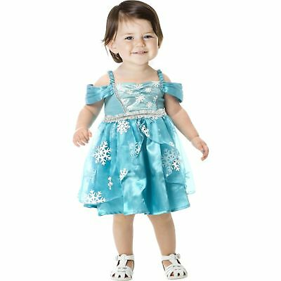 Halloween Frozen (Snowflake Princess Frozen Dress Up Role Play Halloween Costume 6-12)