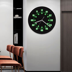 LED Military Clock Time Neon Soldier Army Gift Glow In The Dark Glowing Neon USA