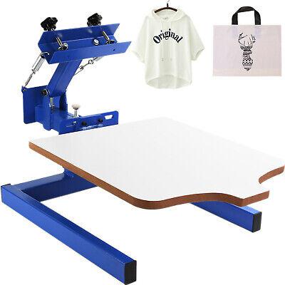 1 Color 1 Station Screen Printing Machine Diy T-shirt Press Printe1