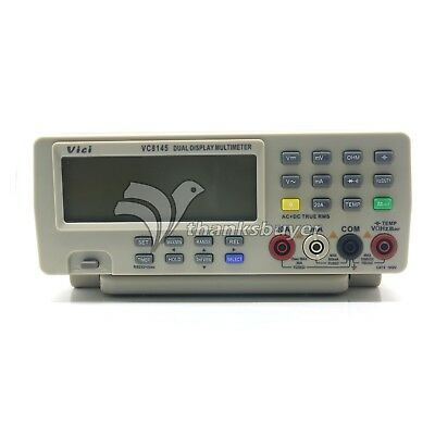 Vici Vichy Digital Multimeter Vc8145 Bench Top Voltmeter Pc Dmm 80k Digit Cap