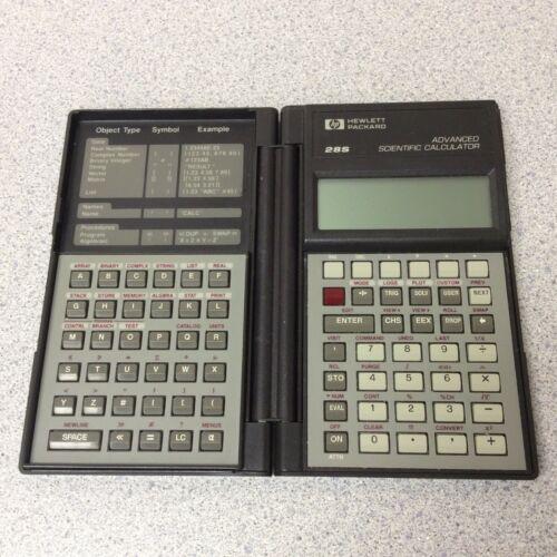 Vintage Hewlett Packard 28S Advanced Scientific Calculator USA 1986 PLEASE READ