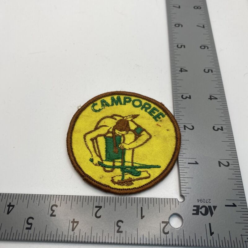 Generic Camporee Native American Indian Theme Boy Scouts Patch 56D-638E