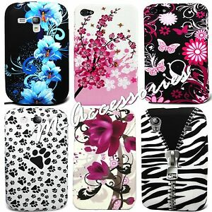 STYLISH-PRINTED-SILICONE-GEL-CLIP-ON-CASE-COVER-SKIN-FOR-VARIOUS-MOBILE-PHONES