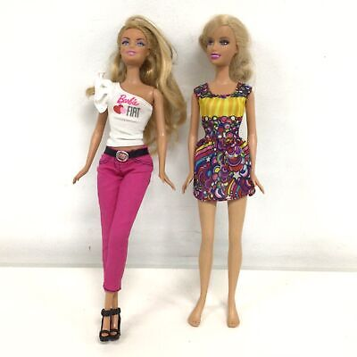 Two 1991 Mattel Barbie Dolls with Outfits #573