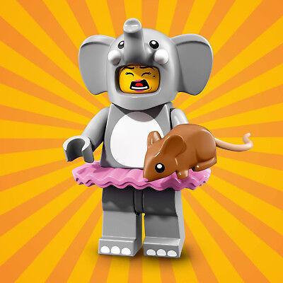 LEGO 71021 Minifguren Serie 18 Party - Mädchen Elefantenkostüm / Elephant Girl