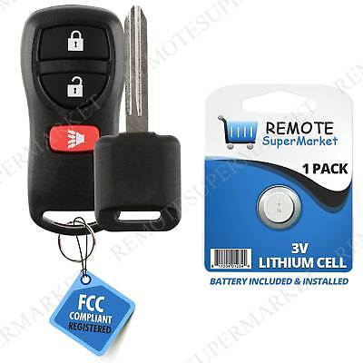 Replacement for 2002-2004 Nissan Frontier Pathfinder Remote Car Key Fob Set (2004 Nissan Pathfinder Replacement)