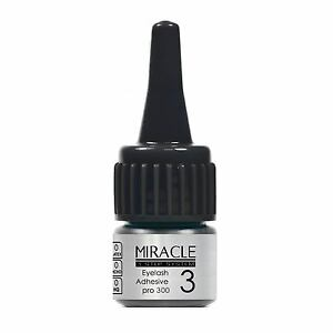 FairyFix MIRACLE Pro300 3g Sensitive Black Semi Permanent Eyelash Extension Glue