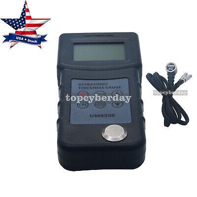 Digital Ultrasonic Thickness Tester Gauge Lcd Meter Risepro Portable Handheld Us