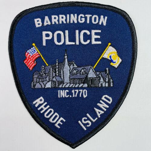 Barrington Police Rhode Island RI Patch (A4)