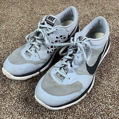 Nike Flex Run 2015 Mens Size 12 Athletic Sneaker Running Shoes Gray Black