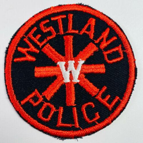 Westland Police Michigan MI Patch (A2)