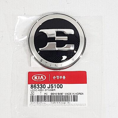 Genuine OEM Parts Front Hood Nameplate Emblem Badge For Kia Stinger 2017-2018+