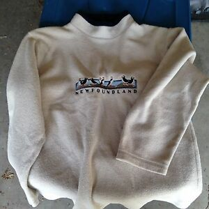 UNISEX FLEECE NEWFOUNDLAND SWEATER