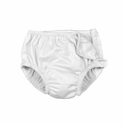 Reusable Swim Diapers Long Lasting Ultra Protection Waterproof White Color 3T